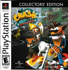 Manual - Front   Crash Bandicoot Warped [Collector's Edition] Playstation