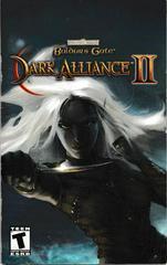 Manual - Front | Baldur's Gate Dark Alliance 2 Playstation 2