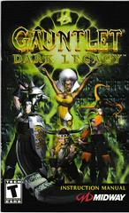 Manual - Front | Gauntlet Dark Legacy Playstation 2