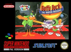 Daffy Duck Marvin Missions PAL Super Nintendo Prices