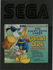 Lucky Dime Caper Starring Donald Duck [Limited Edition] PAL Sega Master System Prices
