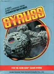 Gyruss - Front   Gyruss Atari 5200