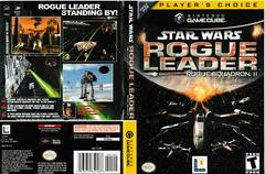 Artwork - Back, Front (Players Choice) | Star Wars Rogue Leader Gamecube