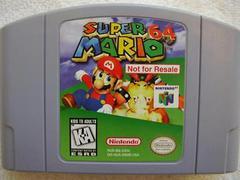 Super Mario 64 [Not for Resale] Nintendo 64 Prices