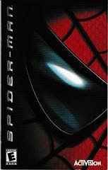 Manual - Front   Spiderman Playstation 2