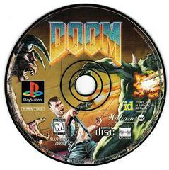 Game Disc   Doom [Black Label] Playstation