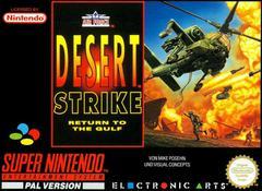 Desert Strike Return to the Gulf PAL Super Nintendo Prices