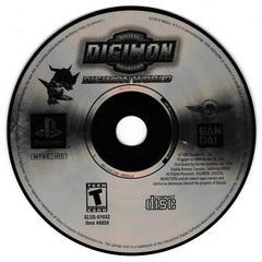 Game Disc - (SLUS-01032) | Digimon World Playstation