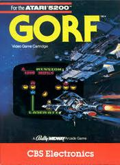 Gorf - Front | Gorf Atari 5200
