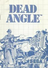 Dead Angle- Instructions | Dead Angle Sega Master System