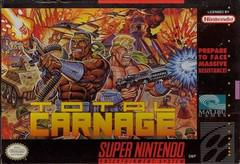 Total Carnage Super Nintendo Prices
