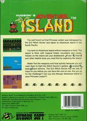 Adventure Island - Back | Adventure Island NES