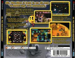 Back Of Case | Ms. Pac-Man Maze Madness Sega Dreamcast
