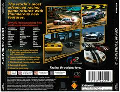 Back Of Case | Gran Turismo 2 Playstation