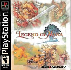 Manual - Front | Legend of Mana Playstation