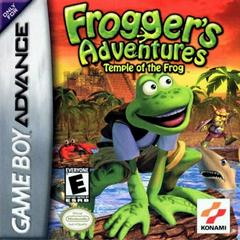 Box - Front | Froggers Adventures Temple of Frog GameBoy Advance