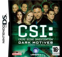 CSI Dark Motives PAL Nintendo DS Prices