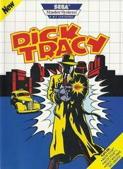 Dick Tracy - Front   Dick Tracy Sega Master System