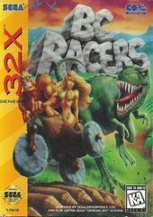 BC Racers - Front | BC Racers Sega 32X