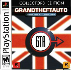 Manual - Front   Grand Theft Auto Mission Pack #1: London 1969 [Collector's Edition] Playstation