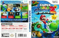 Artwork - Back, Front | Super Mario Galaxy 2 Wii