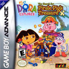 Dora the Explorer: The Hunt for Pirate Pig's Treasure GameBoy Advance Prices