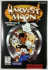 Manual   Harvest Moon Super Nintendo