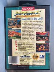 Back Of Case | Street Fighter II Special Champion Edition Sega Genesis
