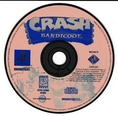 Game Disc (Orange) | Crash Bandicoot Playstation