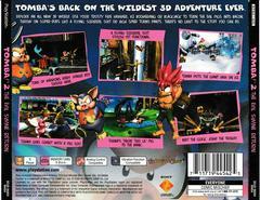 Back Of Case | Tomba 2 The Evil Swine Return Playstation