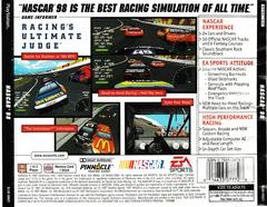 Back Of Case   NASCAR 98 Playstation
