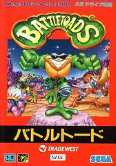 Battletoads JP Sega Mega Drive Prices