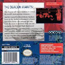 Waterworld - Back   Waterworld Virtual Boy