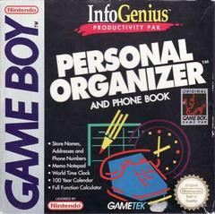 InfoGenius Productivity Pak: Personal Organizer and Phone Book PAL GameBoy Prices