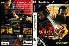 Artwork - Back, Front | Onimusha 3 Demon Siege Playstation 2