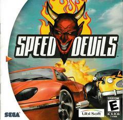 Manual - Front   Speed Devils Sega Dreamcast