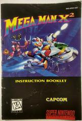 Manual | Mega Man X2 Super Nintendo