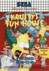 Krusty's Fun House PAL Sega Master System Prices