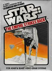 Front Of Box | Star Wars The Empire Strikes Back Atari 2600