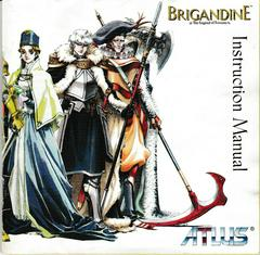 Manual - Front | Brigandine: The Legend of Forsena Playstation