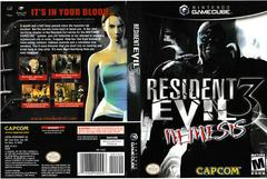 Artwork - Back, Front | Resident Evil 3 Nemesis Gamecube