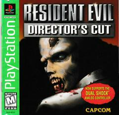 Manual - Front | Resident Evil Director's Cut [Greatest Hits] Playstation