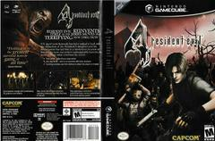 Artwork - Back, Front | Resident Evil 4 Gamecube