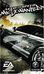 Manual - Front | Need for Speed Most Wanted Gamecube