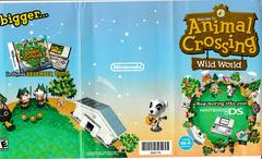 Front - Tri-Fold Insert For Wild World On DS | Animal Crossing Gamecube