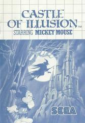 Castle Of Illusion - Instructions   Castle of Illusion Sega Master System