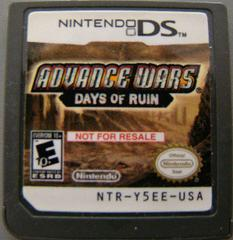 Advance Wars Days of Ruin [Not for Resale] Nintendo DS Prices