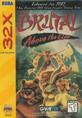 Brutal: Above the Claw Sega 32X Prices