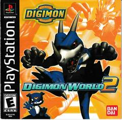 Manual - Front | Digimon World 2 Playstation