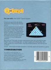 Q*Bert - Back   Q*bert Atari 5200